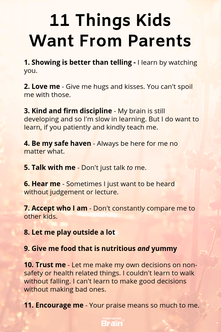 Advice For Parents Of Children Just >> 11 Tips On Raising Children Parentingforbrain