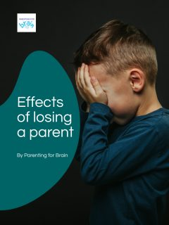 Effects of losing a parent story