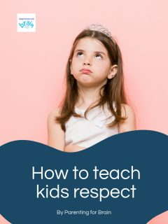 girl with tiara not respect - How to teach kids respect cover