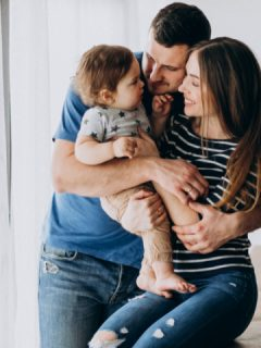 parent show baby love