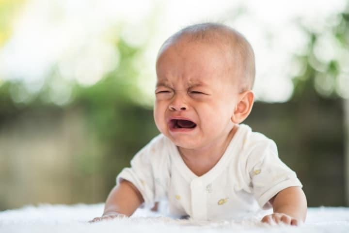 Baby cries - temperament psychology